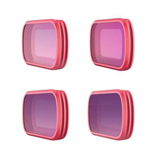 PGYTECH Osmo Pocket PRO Set: ND8/PL, ND16/PL, ND32/PL, ND64/PL