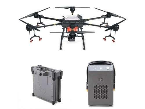 Аграрен дрон Agras T16 с 1 батерия и зарядно устройство