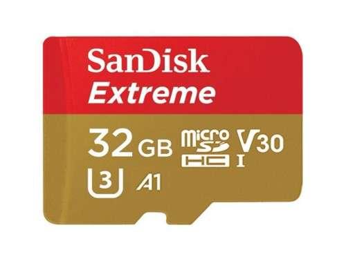 SanDisk microSDHC Extreme 32GB V30