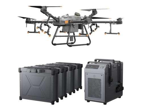 Аграрен дрон Agras T30 Combo с 4 батерии и зарядно устройство